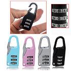 4Pcs 3 Digit Combination Number Locks Padlock Locker Lock Home Luggage Travel