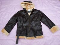 RELIABLE SOURCE WOMEN'S 100% Leather Jacket - SIZE - L. TAG NO. 12W