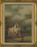 Costella - 20th Century Oil, Dutch Canal Scene