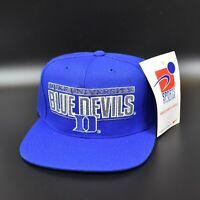 Duke Blue Devils Vintage 90's Sports Specialties Pro Shield Snapback Cap Hat