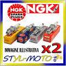 KIT 2 CANDELE NGK SPARK PLUG BPR6ES FIAT 126 BIS 0.7 19 kW 126 A2.000 1990