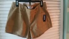 Old Navy Womens Size 4 kaki Shorts New With Tags