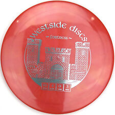 New Red Tournament Gold Fortress Distance Driver 171g Westside Disc Golf