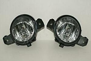 2001- RENAULT Fog Driving Lights Lamps LEFT + RIGHT PAIR