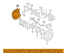 TOYOTA OEM Rear Brake-Backing Plate Splash Dust Shield 4650360131