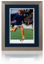 Large ALAN BALL Hand Signed EVERTON Framed Photograph AFTAL Photo Proof COA