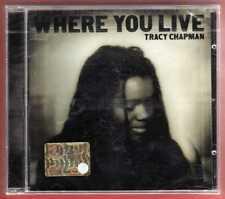 TRACY CHAPMAN Where You Live CD nuovo sigillato