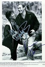 Kevin Costner u. Whitney Houston ++Autogrammfoto+++