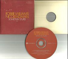 ROBBIE WILLIAMS w/ NICOLE KIDMAN Somethin Stupid SLEEVE Europe PROMO CD single