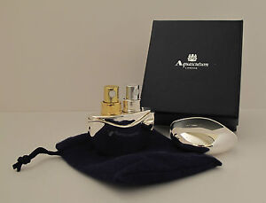 ATOMISER BY AQUASCUTUM - GIFT BOXED - HOLD 2 PERFUMES - 100's SOLD