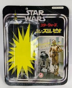 "1978 Takara Star Wars C-3PO 7"" Card Original Bubble Package Backer Japan"