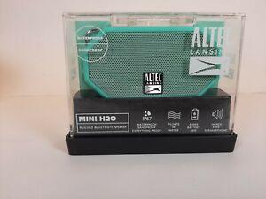 Altec Lansing Mini H20 Rugged Bluetooth Speaker Water/Sand Proof NEW Green