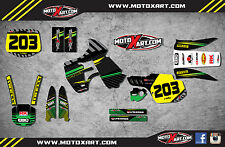 Kawasaki KX500 1988/2004 Full  Custom Graphic Kit-FACTORY STYLE stickers decals