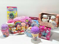 Ultimate New 10 Toy Gift Lot For Girls Blume Smooshy Disney Schleich PixaPet