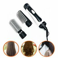 2 in 1 Air Styler Curler Hair Dryer Styling Roll Hair Brush Comb Hairdryer BK