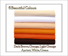 ECO Friendly Felt Squares, Orange Shades 12 squares, 30cm x 25cm