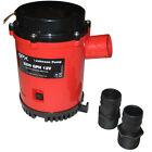 """Johnson Pump 22004 2200 Gph Bilge 1-1/8"""" Hose 12V Threaded Port photo"""