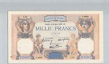 FRANCS 1000 FRANCS CÉRÈS ET MERCURE 30 MARS 1939 G.6990 N° 174731139 PICK 90c