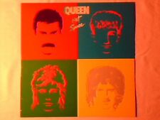 QUEEN Hot space lp USA FREDDIE MERCURY DAVID BOWIE COME NUOVO LIKE NEW!!!