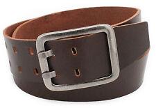 5 cm breit Gürtel echtes Leder Vollleder braun schwarz Jeansgürtel Belt Vascavi