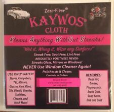 3 - Kaywos Cloths - Zezo-Fiber for $15.00 includes shipping and handling