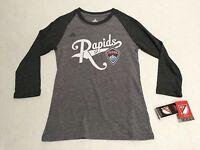 e6b5780bcb9 Colorado Rapids Official MLS Adidas Kids Youth Girls Size Long Sleeve Shirt  New