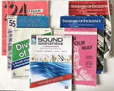 Clarinet Music Instruction Books - 8 Book Lot ~ Standard of Excellence & O 00004000 thers
