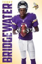 TEDDY BRIDGEWATER POSTER ~ WORK 22x34 NFL Football Minnesota Vikings 13663