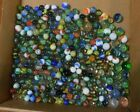 LOT OF 288  ANTIQUE VINTAGE MARBLES OPAQUE SWIRL SHOOTER AKRO AGATE
