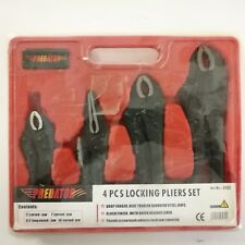 Predator 4 piece locking pliers set