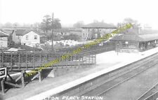 Bolton Percy Railway Station Photo. Copmanthorpe - Ulleskelf. Church Fenton. (3)