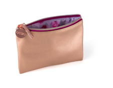 NWT Maybelline Rose Gold Cosmetic Zip Pouch Bag
