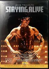 Staying Alive (DVD) John Travolta - Cynthia Rhodes - Drama - Action - Music t7