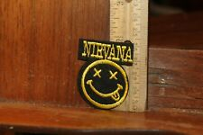 Embroidered Rock n Roll Patch Nirvana