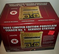 2002 Ertl Collectibles Porcelain Texaco No 1 Service Station Limited Edition