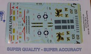 Microscale Decal 1:48 Scale #48-1118 / F-14D Tomcat, VF-213 Final Scheme