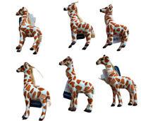 Lot Of 7 Target Wondershop Fabric Giraffe Ornaments 2019
