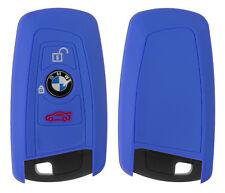 Silicon Case blau für BMW 3-Tasten Autoschlüssel Key Case Schlüssel Hülle Cover