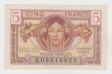 Billet - 5 Francs Trésor Français 1947 VF.29.01 - NEUF