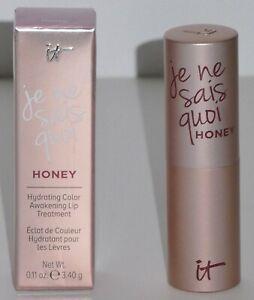 IT Cosmetics Je Ne Sais Quoi Color Awakening Hydrating Lip Treatment Brand New