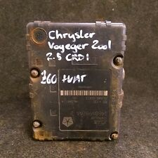 CHRYSLER VOYAGER 2001 ABS PUMP ATE (0468698AAB) (10.0511-8186.1) KC