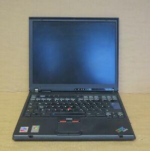 "IBM ThinkPad T41 14.1"" Intel Pentium M 1.6GHz 40GB HDD Win XP Pro COA Laptop"