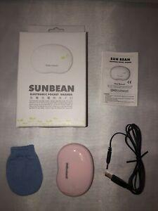 Sunbean USB Rechargeable Hand Warmer - Pink
