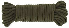 Utility Rope 9mm X 15m - Durable 9mm Polyester Rope Military Camping Outdoor