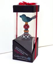Wine Bottle Stopper Whimsical Metal Bird Wonderful Bright Colors