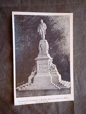 Progetto monumento Quintino Sella erigersi in Biella Prof.Bortone Premio 1886