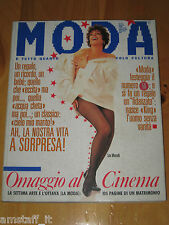 MODA ITALIA=MAGAZINE=1988=N.50=LIZA MINELLI=MADONNA=MILLA JOVOVICH=STING=