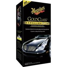 Meguiars Carnauba Plus Liquid Car / Motorbike Wax  **FREE CLOTH & APP PAD**