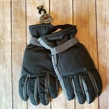 Levis NEW Size L Black Warm Winter Gloves 100% polyester and shell Nylon