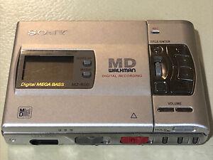 Sony Minidisc player recorder Walkman MZ-R50 MD Mini Disc Fully Working Remote